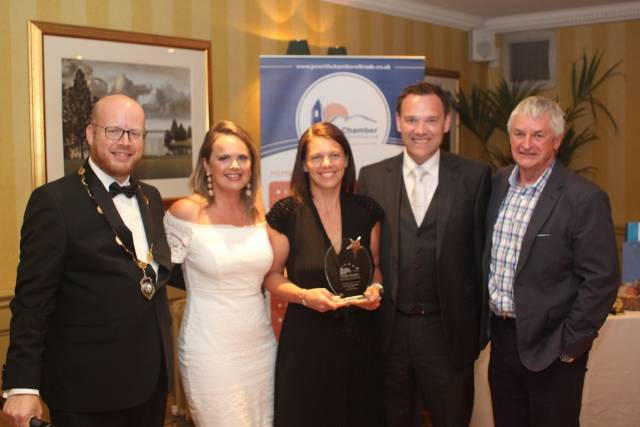 Cartmell Shepherd picked up the prestigious Business of the Year Award