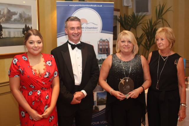Sassy Nix were recognised for their fantastic customer service as Retailer of the Year