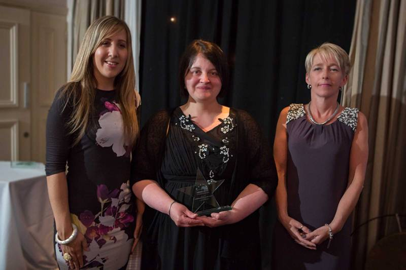 Michelle Cole (Penrith Building Society), Angela Gilmore (Penrith Cinema), Heather Ripley (Penrith Building Society)
