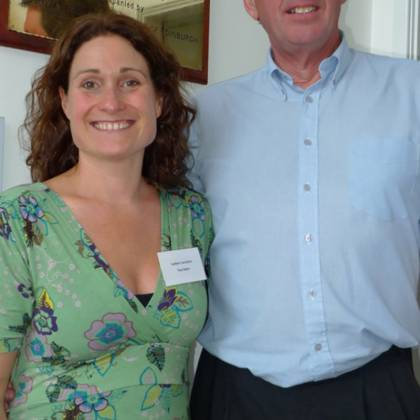 Justine Carruthers and Richard Utting