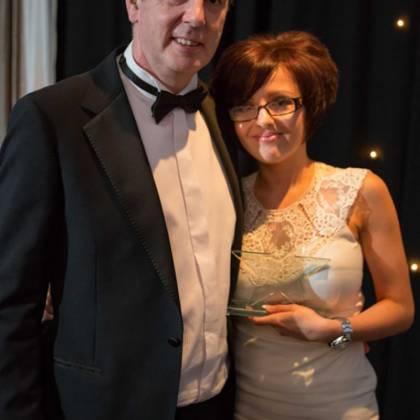 Grahame Latus (Enterprise Answers) & Tanya Tinkler (Salon Rouge)