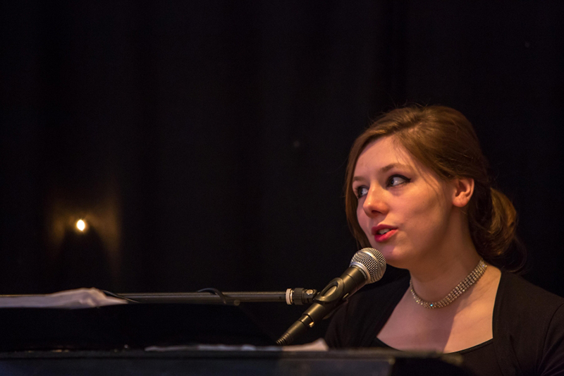 Singer and pianist Lucia Lipscombe