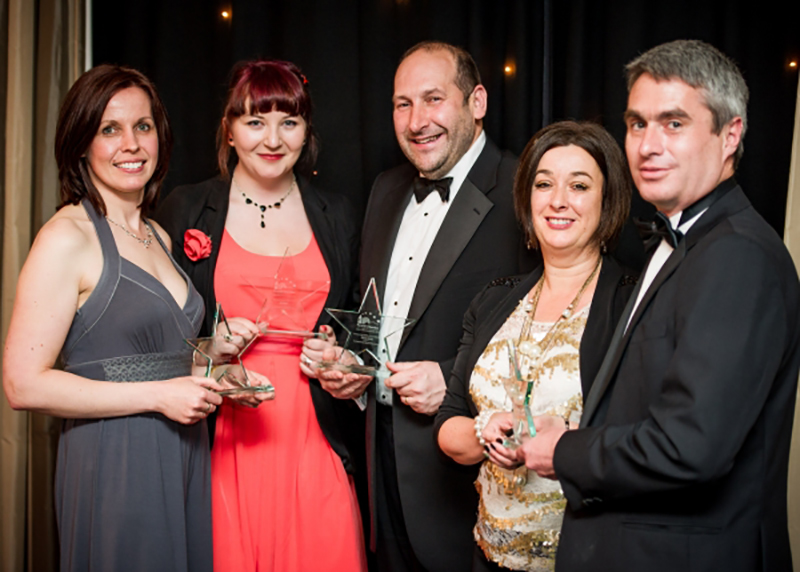Winners of the Stars of Business Awards